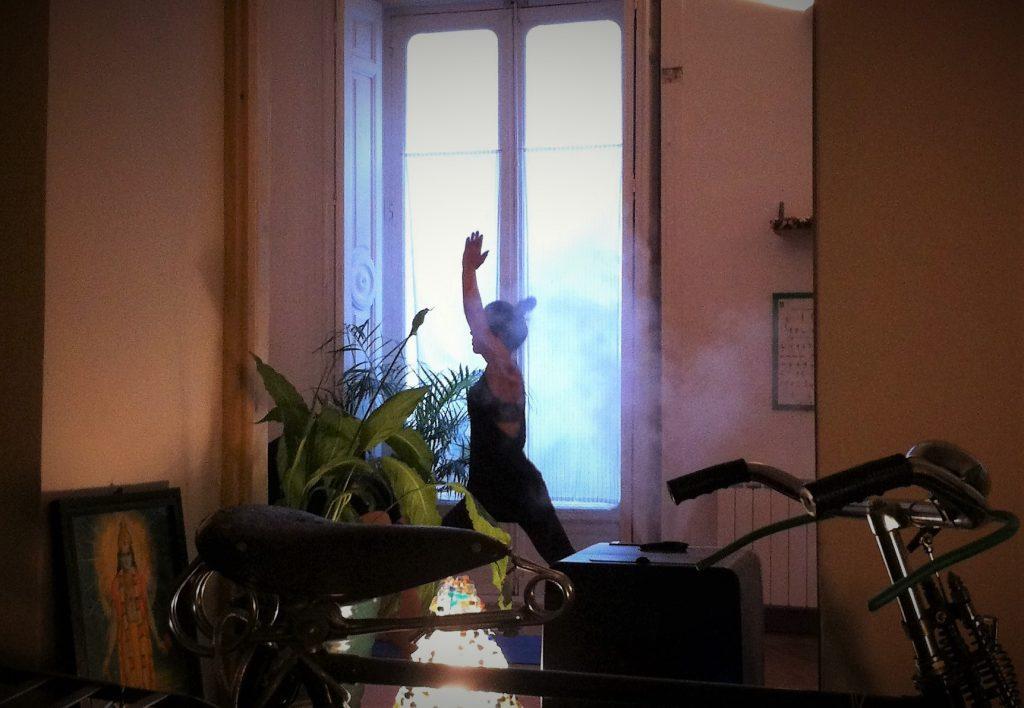 Wohnzimmeratmosphäre im Studio Ashtanga Yoga Madrid