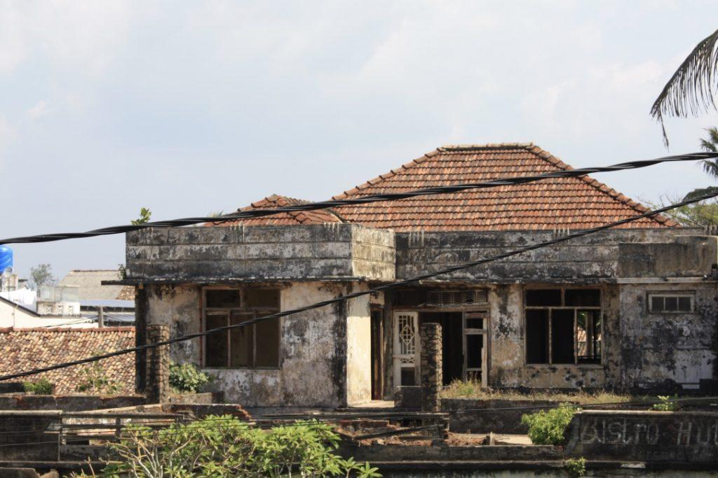 Verlassenes Haus in Galle