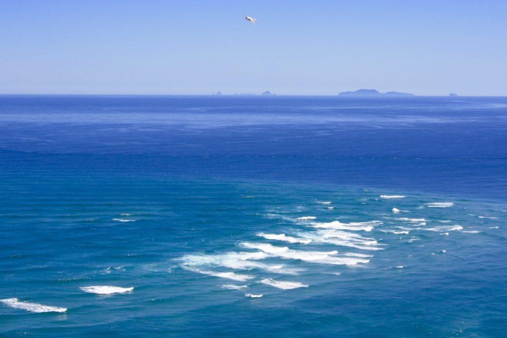 Cape Reinga: Wenn sich zwei Meere treffen