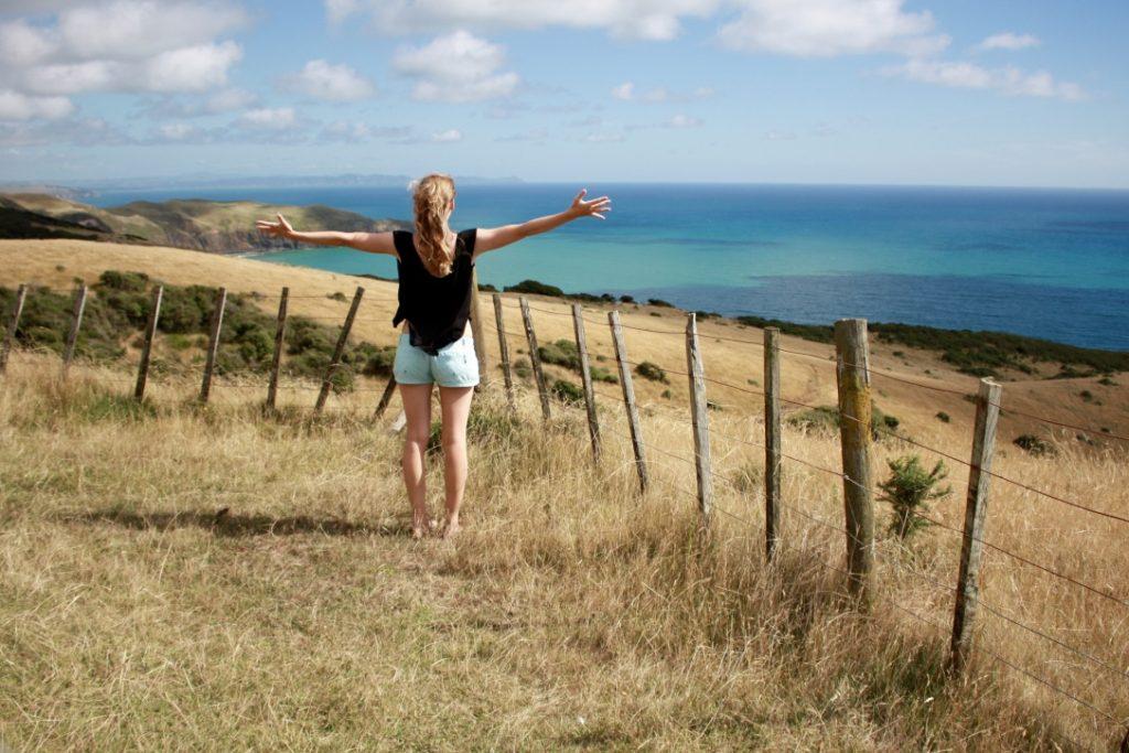Hallo Meer (ok, der Zaun ist im Weg)