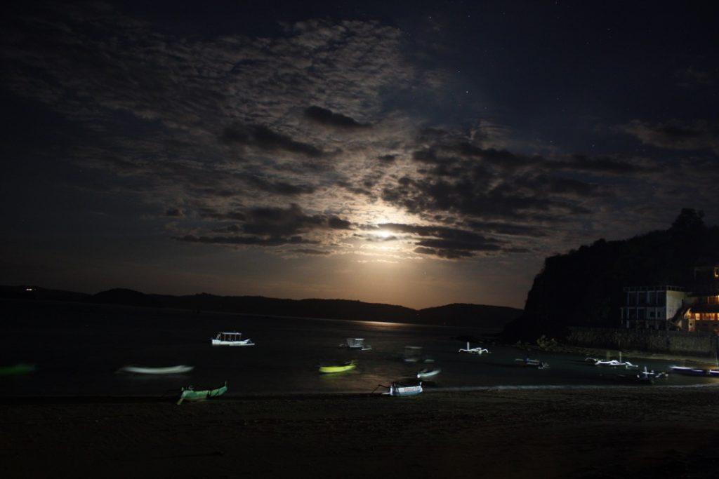 Gerupuk by night