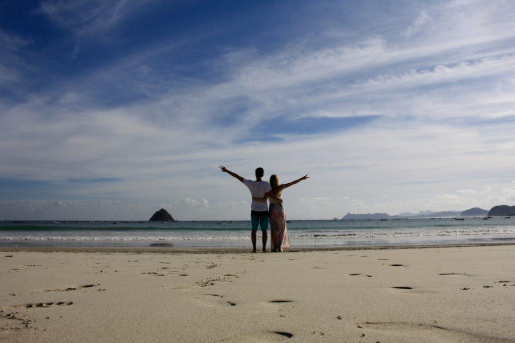 Am Strand von Selong Belanak